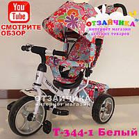 Детский Трехколесный Велосипед Baby Tilly 344-1, Белый