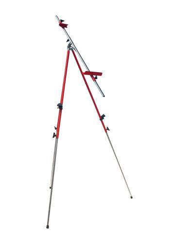 Мольберт тренога D.K. ART - CRAFT 92*92*203см, h полотна до 78см, с сумкой (Красный)1513