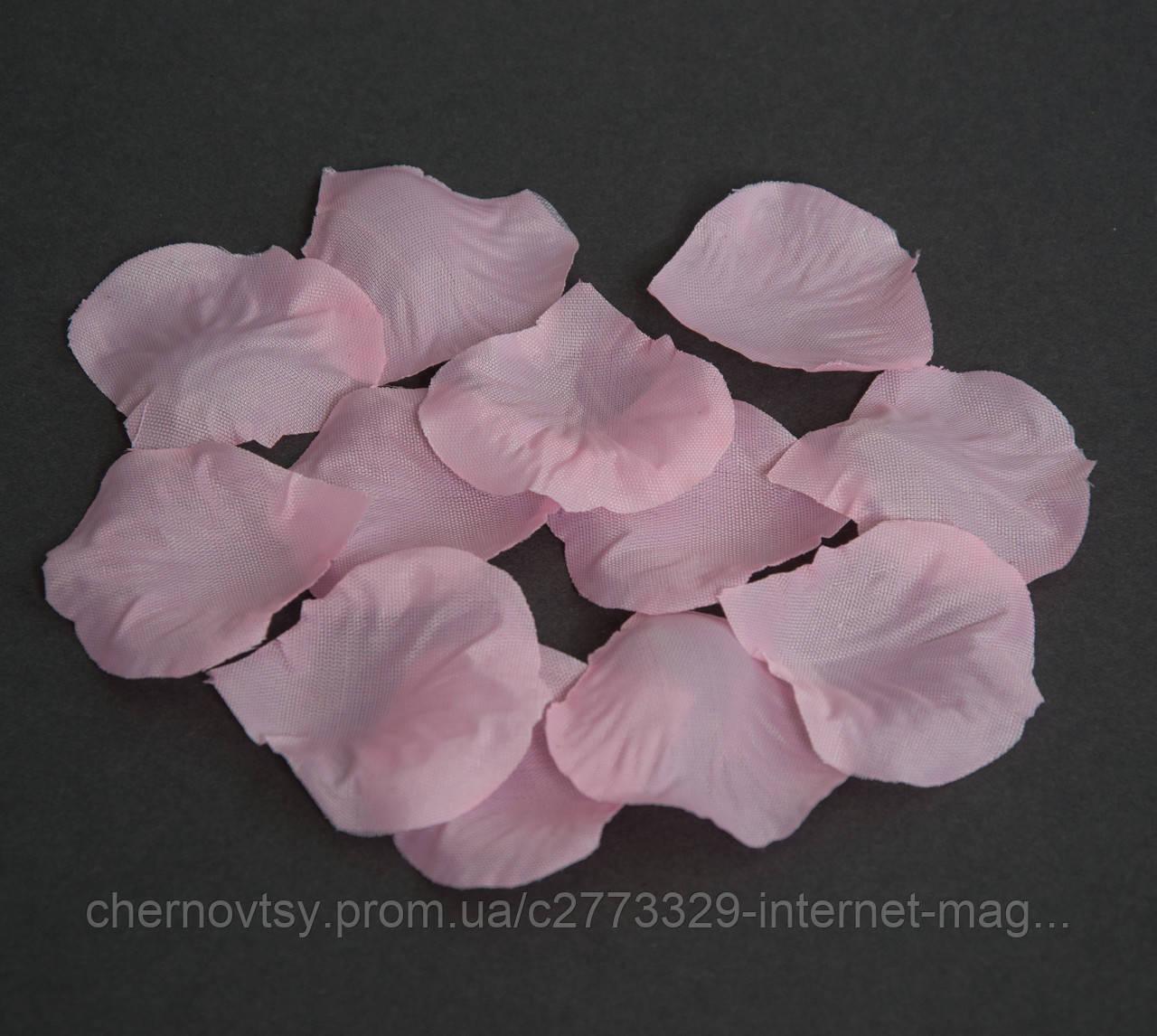 Лепестки роз из ткани уп. 50 г