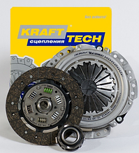 Комплект сцепления Chevrolet Lacetti 1.4- 1.6 без подшипников Krafttech
