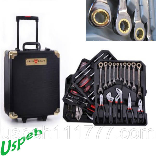 Набор инструментов Swiss Kraft