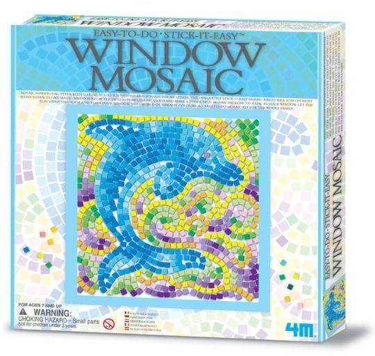 Набор для творчества 4M Природа мозаичный витраж 4526