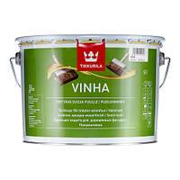 Полуматовая защитная краска для древесины Винха (Vinha), VC (прозрачная), 2,7л