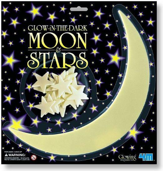 Набор для творчества 4M Луна и звезды 1 большая луна и 10 звездочек 5215