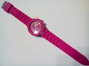 Наручные часы Geneva розовые, фото 2