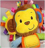 Обезъянка. Игрушка для сна и игры. Happy monkey, фото 2