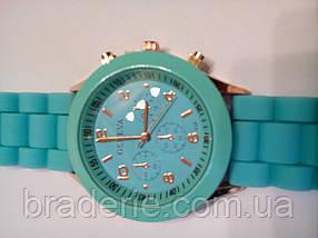 Наручные часы Geneva бирюзовые, фото 3