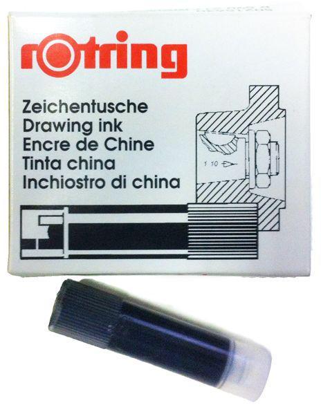 Картриджи для изографа ROTRING 5шт R5902**_Чорний