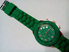 Наручные часы Geneva зеленые, фото 3