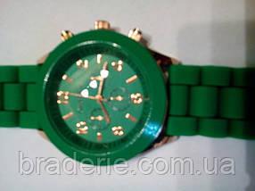 Наручные часы Geneva зеленые, фото 2