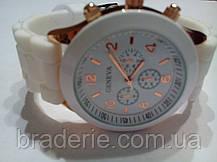 Наручные часы Geneva белые, фото 3