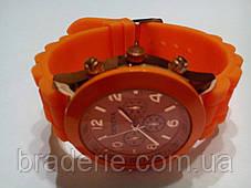 Наручные часы Geneva оранжевые, фото 3