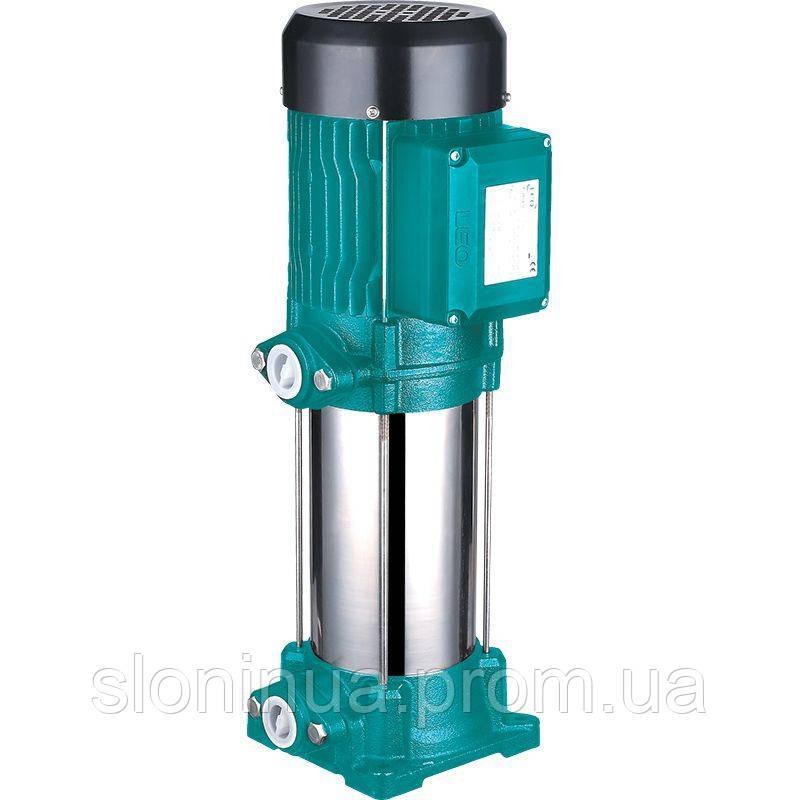НАСОС Ц/БЕЖНЫЙ МНОГОСТУП ВЕРТ LEO 3.0 1.5 кВт HMAX 74м QMAX 100л/мин (775455)