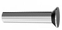 Заклепка DIN 661 — заклепка под молоток с потайной головкой.