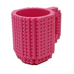 Кружка-конструктор QCF розовая