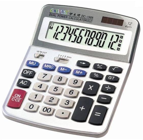Калькулятор EATES DC-1988
