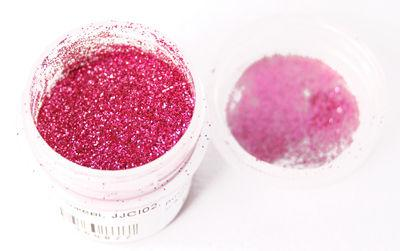 Блестки сухие 7гр 0,2мм Розовые