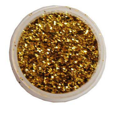 Блестки сухие 7гр 0,4мм Золото