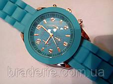 Наручные часы Geneva голубые, фото 2