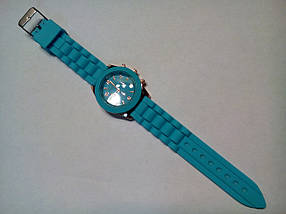 Наручные часы Geneva голубые, фото 3