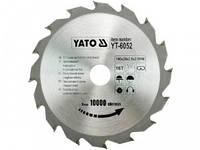 Диск пильный победитовый YATO: 140х20х2.8х2,0мм I зубці 16 І  R.P.M до 10000 1/хв [25/50]