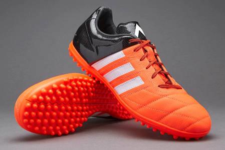 8dbb7375 Детские Сороконожки Adidas Ace 15.3 Leather TF B27066 JR (Оригинал), фото 2