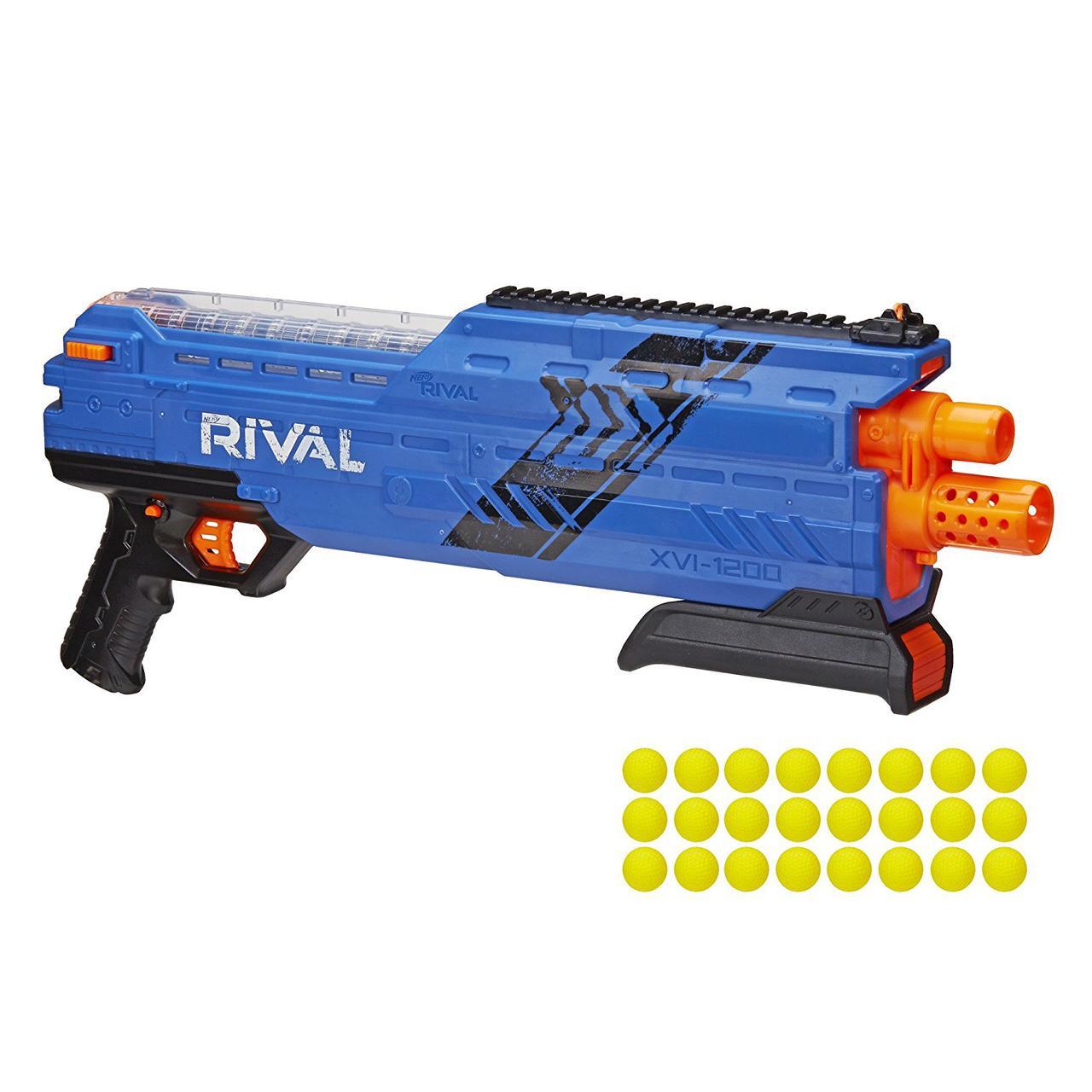Бластер Нерф детское оружие Райвал Атлас Nerf Rival Atlas XVI-1200 BLUE