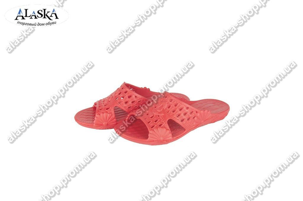 Женские шлепки (Код: ПЖ-28 красный )