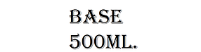 База/основа (USA) 500ml.