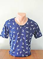 Мужская стильная футболка Ласточки
