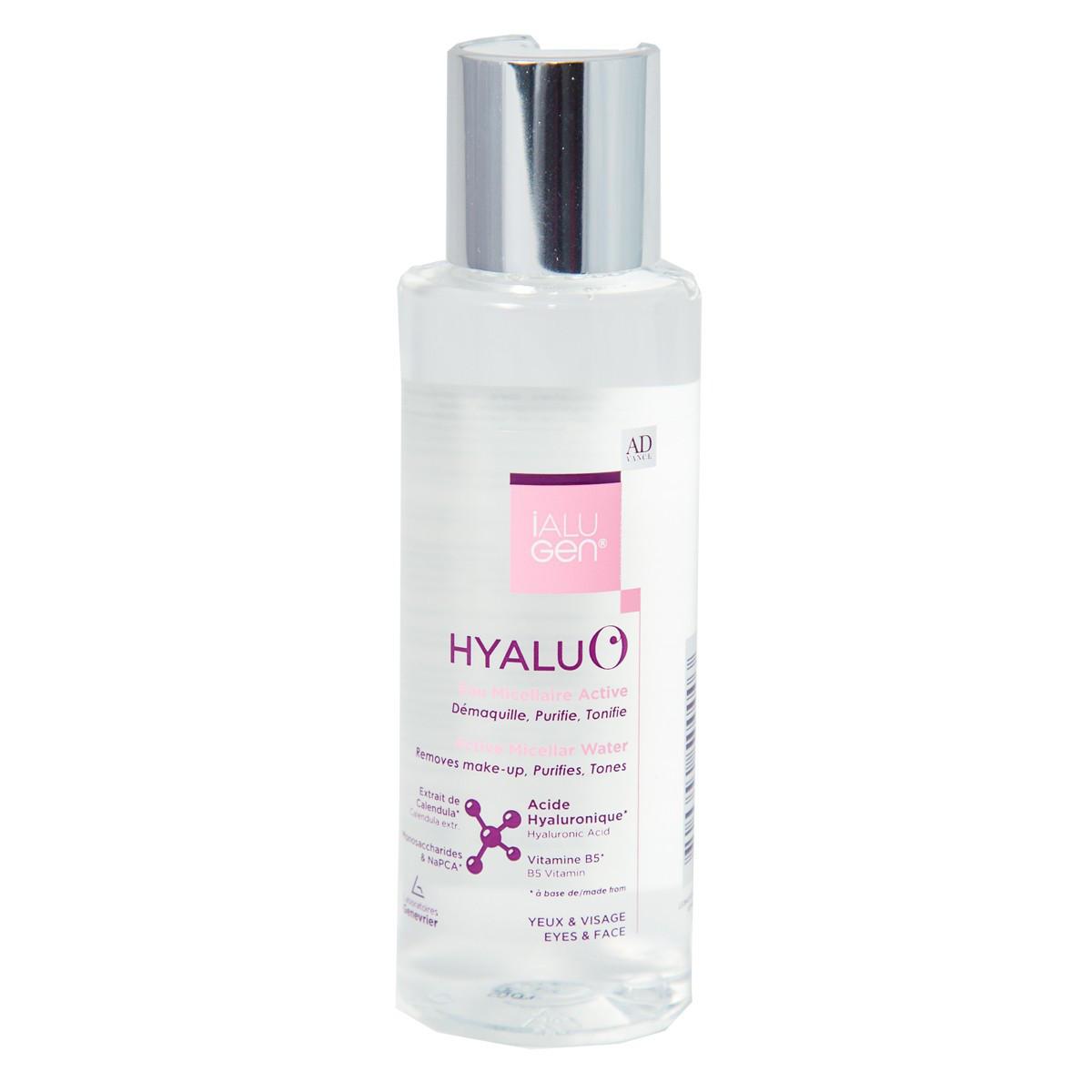 Мицеллярная вода для бережного очищения кожи  Hyalu'O Active Micellar Ialugen Advance 100мл