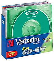 Диск CD-R 700 MB VERBATIM 52x Extra Slim