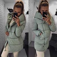 Женская зимняя куртка Зефирка фото реал, фото 1