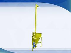 Вертикальный шнековый погрузчик