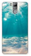 Чехол на телефон Oukitel K6000 Pro с рисунком воды