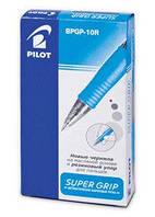 Ручка шариковая PILOT Super Grip BPGP-10R-0,7мм_Красный