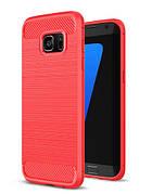 Чехол на Samsung S7 Красный