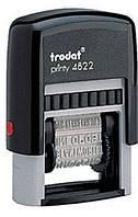 Штамп TRODAT 4822 с бухгалтерскими терминами