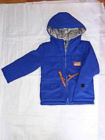 Детская куртка парка демисезонная разные цвета, 92-116 см