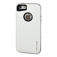 Чехол GlobalCase (Cap-D) для Apple iPhone 5/5S серебристый (1283126472831)