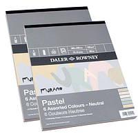 Бумага-склейка Daler-Rowney А4 160г/м 30л. Murano-Neutral натур. цвета 5301