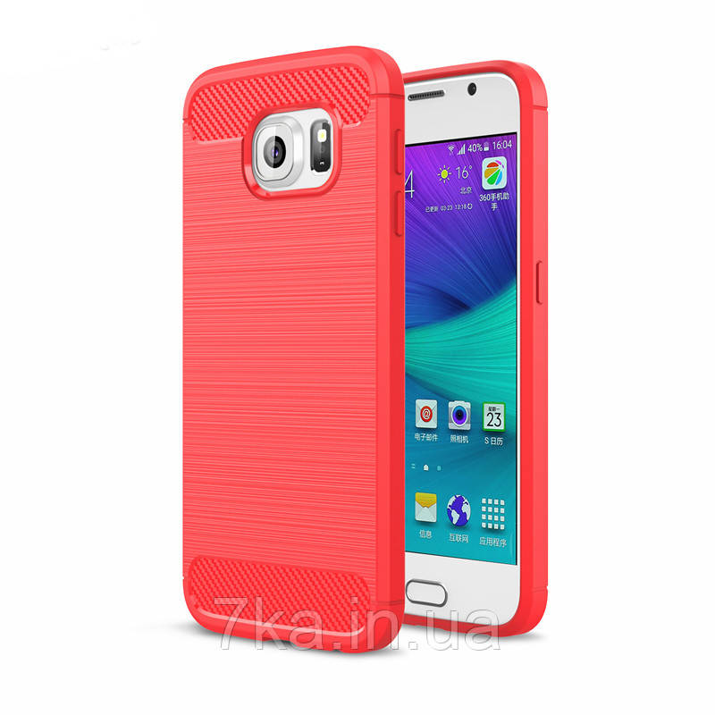 Чехол на Samsung S6 Красный