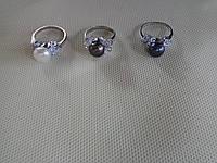 Кольцо с 1 больш. жемчужиной