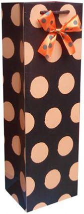 Пакет подарочный бумажный LULU в350*ш115*т90мм J1001 Бутылочный