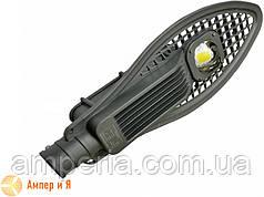 Світлодіодний світильник вуличний полегшений COB 50W 5500LM 6000K EUROLAMP LED