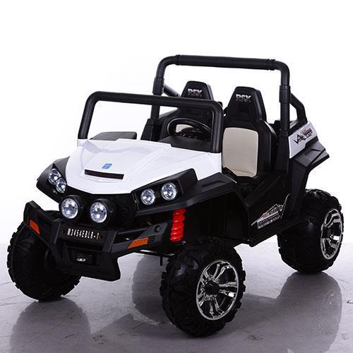Двухместный детский электромобиль M 3454 EBR-1 Багги, 4 мотора,белый *
