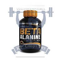 BioTech Beta Alanine 120 Капсул бета-аланин аминокислота для тренировок спортивное питание