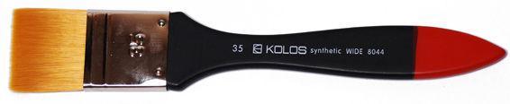 Кисть KOLOS синт флейц. Wide №35 к.р. 8044