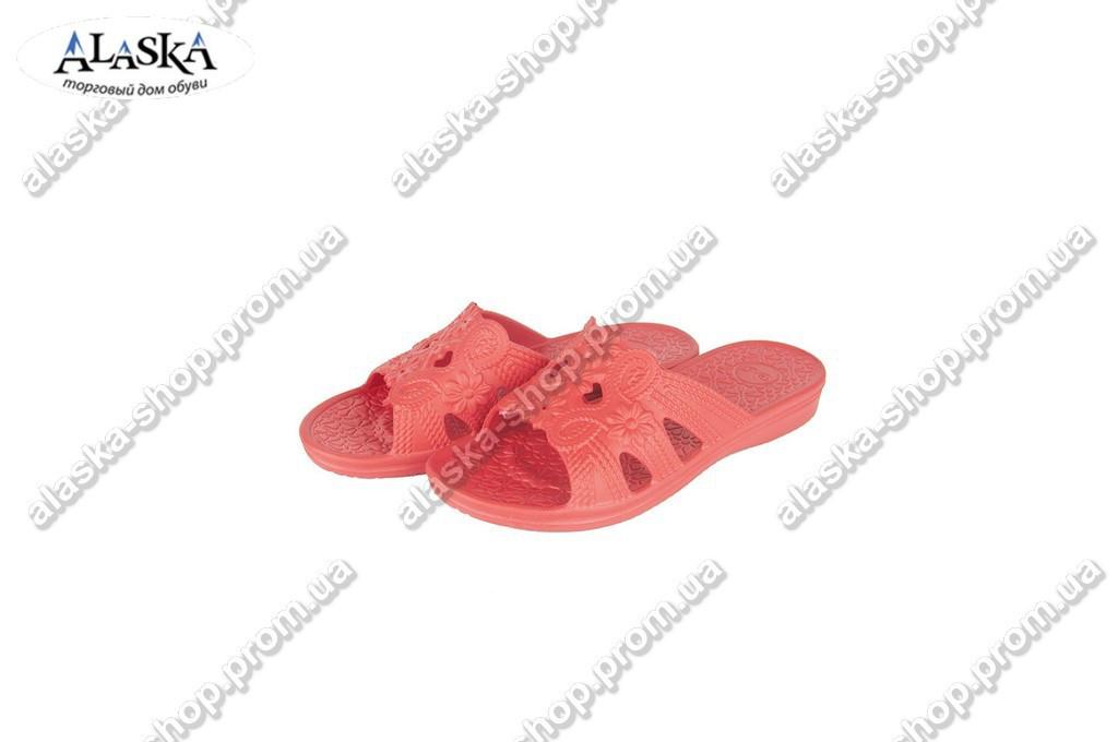 Женские шлепки  (Код: ПЖ-29 красный )