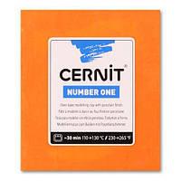 Глина полимерная Cernit Number One 250гр Оранжевый CR-0900250752